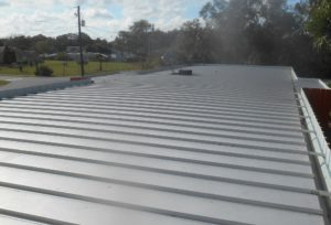 Commercial Metal Roofing for businesses in the Lakeland, Florida